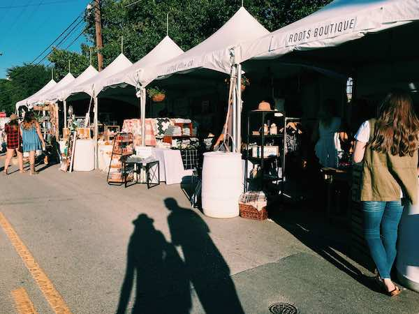Market Outside Of Magnolia For Silobration
