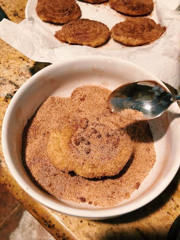 Nutella Churro Ice Cream Sandwich Recipe 3