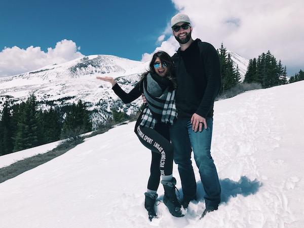 Breckenridge Couple Photo
