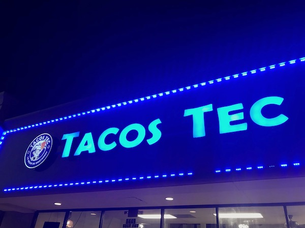 Tacos Tec on Gulf Freeway 5
