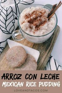 We love Arroz Con Leche and this recipe is the best! Check out this warm and comforting deliciousness.