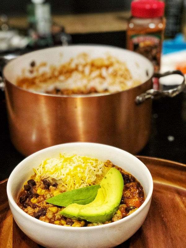 The Tastiest Healthy Turkey Chili 5