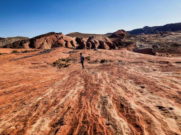 Hiking Valley Of Fire