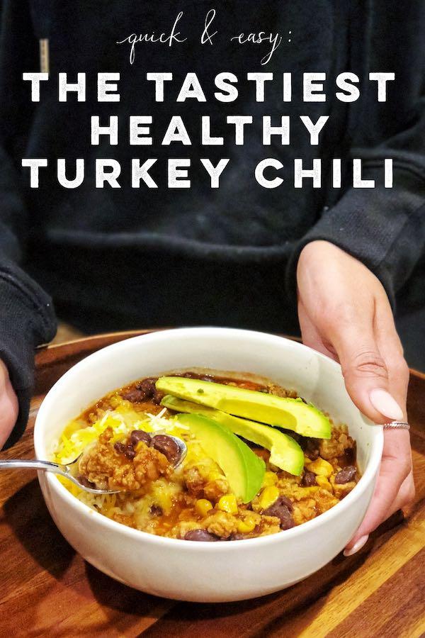 The Tastiest Healthy Turkey Chili 2