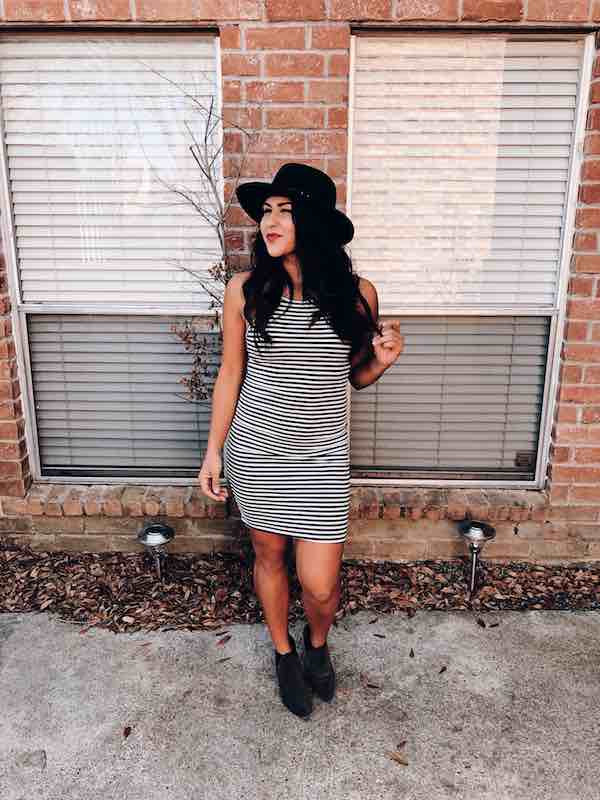 Dress With Hat Outfit