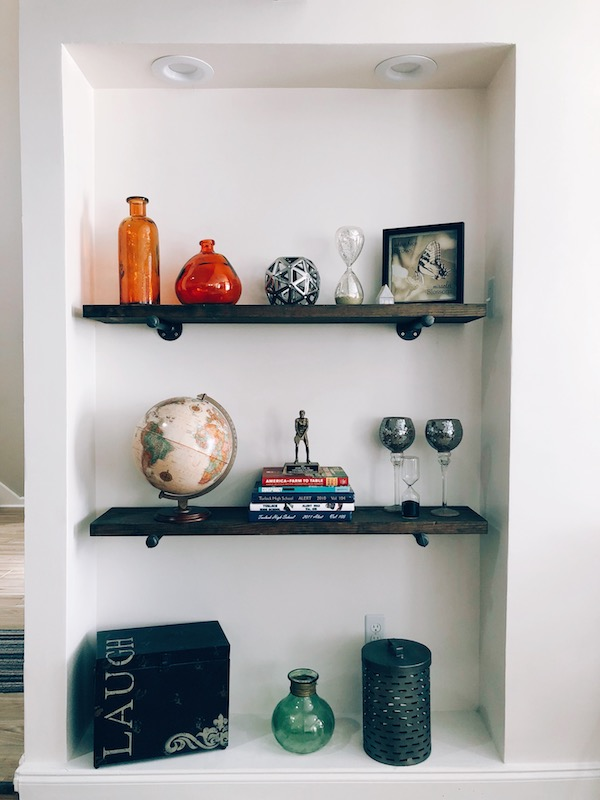 How to Make Rustic Wood Shelves - A DIY Guide 1
