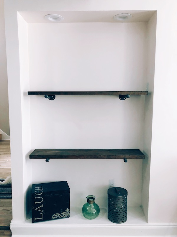 How to Make Rustic Wood Shelves - A DIY Guide 8