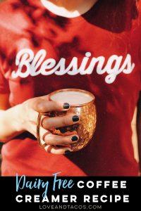 Dairy Free Coffee Creamer Pinterest Image