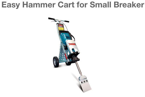 Easy Hammer Cart for Small Breaker