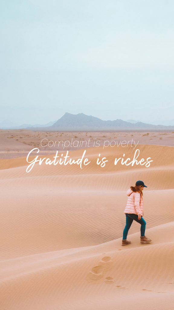How To Live A Grateful Life - Steps To Combat A Bad Attitude 1
