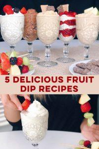 Pinterest Fruit Dip Image