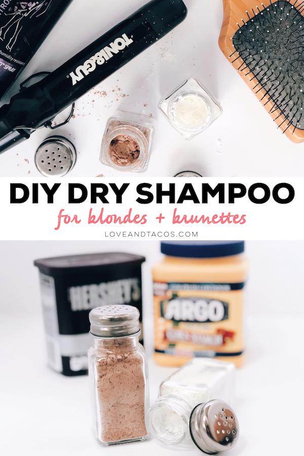 DIY Dry Shampoo Pinterest Image