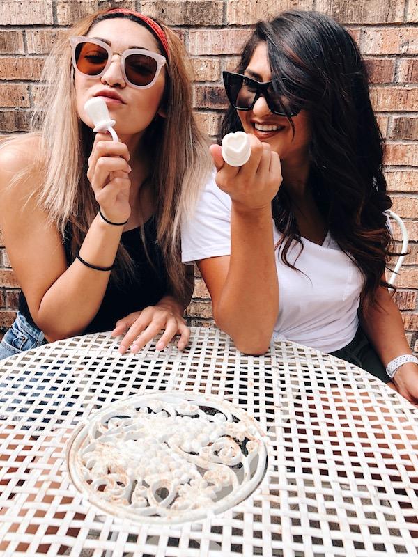 Horchata Ring Popsicles