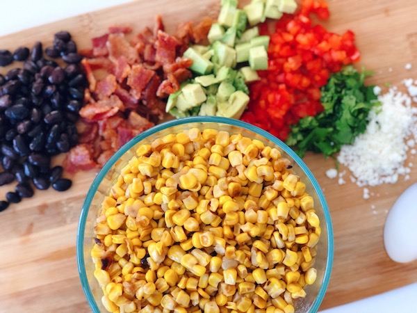 The best Mexican Corn Salad is calling your name and you will fall in love!