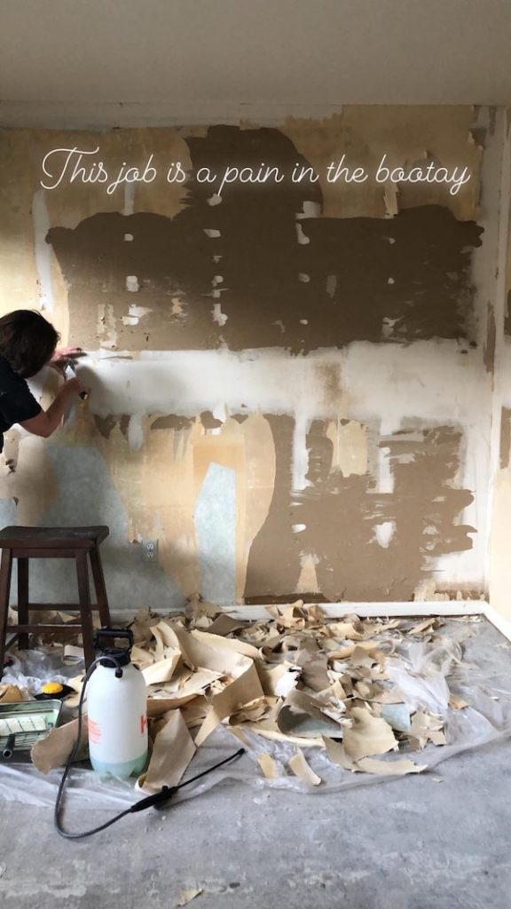 How To Remove Wallpaper - DIY 26