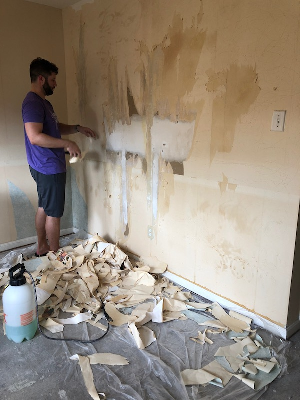 How To Remove Wallpaper - DIY 11