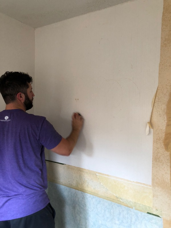 How To Remove Wallpaper - DIY 14