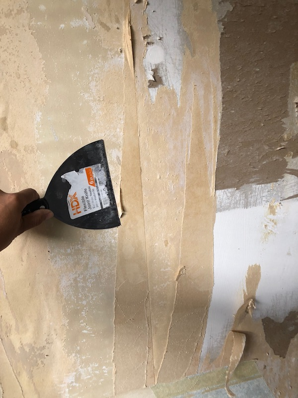 How To Remove Wallpaper - DIY 18