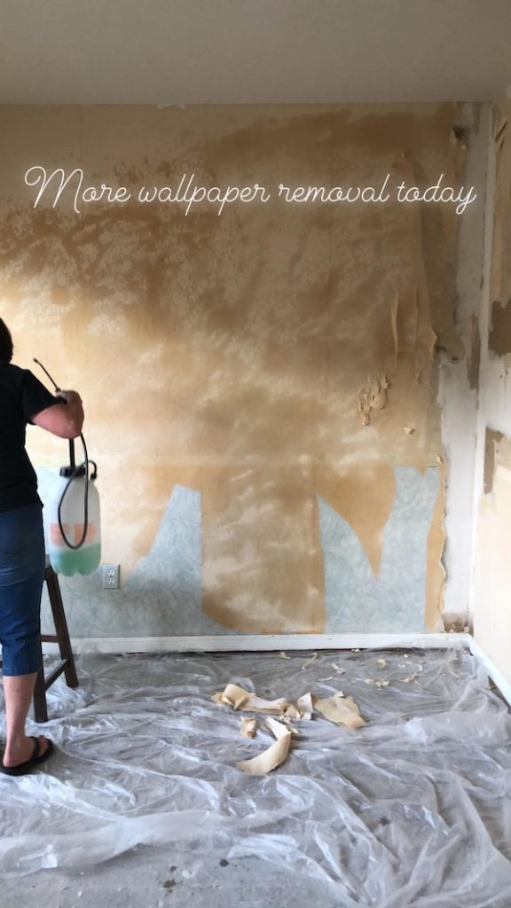How To Remove Wallpaper - DIY 24
