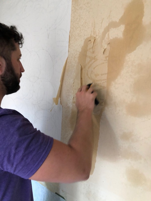 How To Remove Wallpaper - DIY 20