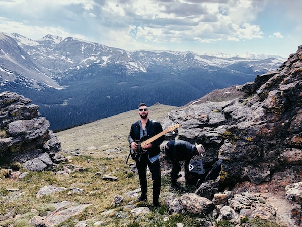 Bassist On A Mountain