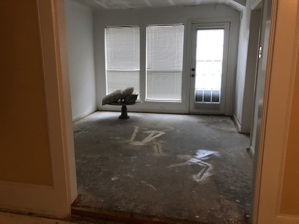 Dinning Room Before