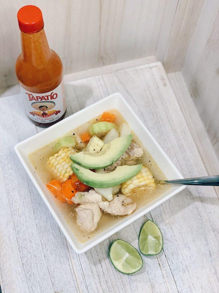 Easy Caldo de Pollo (Mexican Chicken Soup) 2