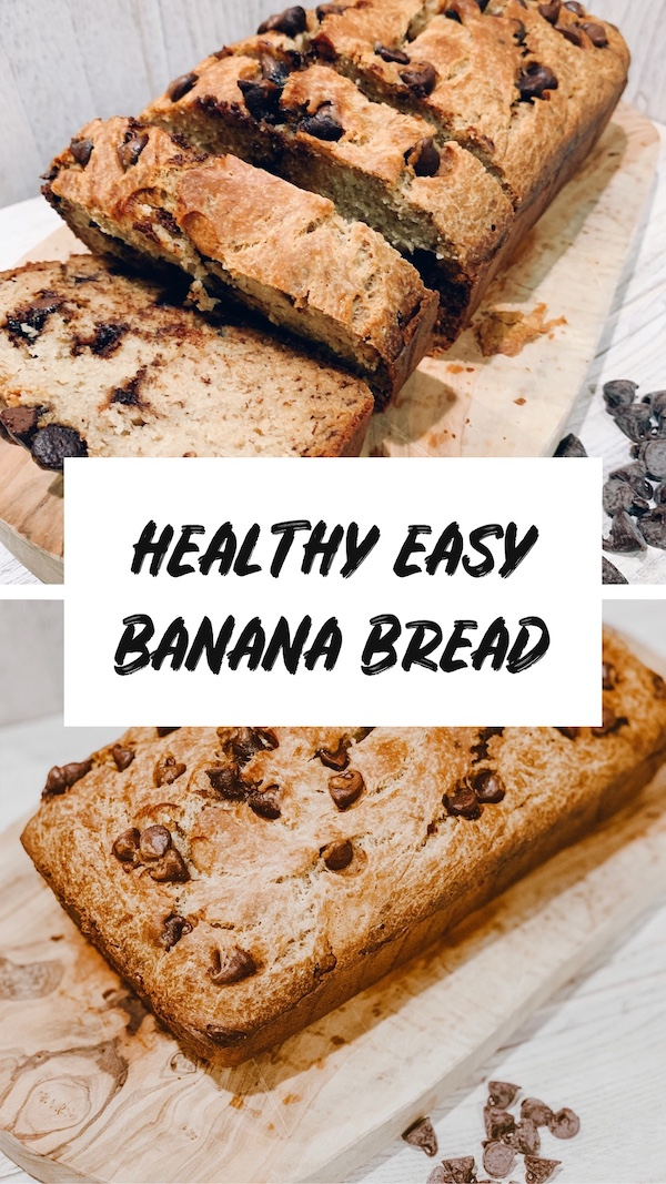 Healthy Easy Banana Bread Recipe 3